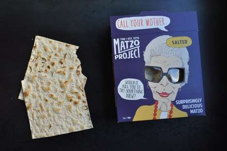 Artisanal Matzo Chips - The Matzo Project is Making Small-Batch Matzo in Bold New Flavors