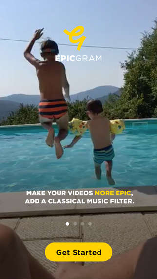 Classical Video Apps - 'Epicgram' Enhances Videos with Classical Music