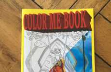 Social Media Coloring Books