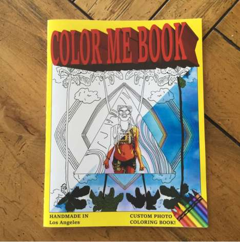 Social Media Coloring Books - 'Color Me Book' Turns Instagram Pictures into Adult Coloring Books