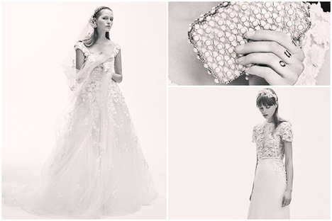 Whimsical Wedding Dresses - The Elie Saab Bridal Collection Debuts Next Year for Spring