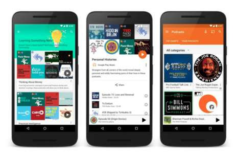 Expanding Music Streaming Services - Google Play Music Podcasts is the Next Evolution of the Product