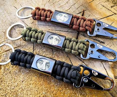 Woven Monetary Keychains - The RattlerStrap Lets Consumers Keep Cash in a Compact Pocket Clip