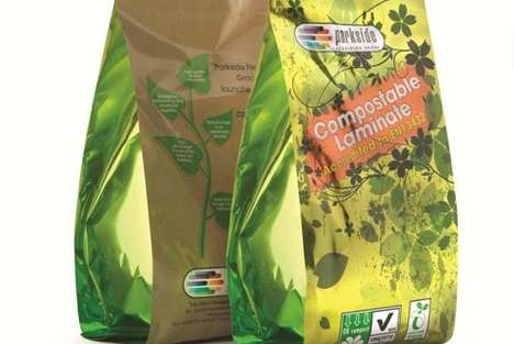 Compostable Laminated Packaging - Parkside's Bag Sustainable Wrappers are Fully Biodegradable