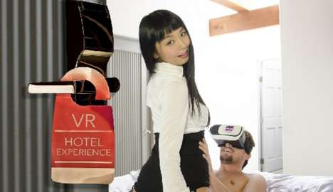 Adult Virtual Reality Romances - The VR Bangers Service Offers Adult Content in Hotel Establishments