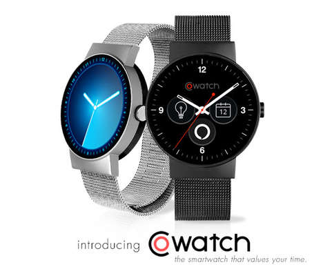 Powerful Voice Control Smartwatches - The 'CoWatch' is a New Smartwatch with Amazon Alexa Built-in