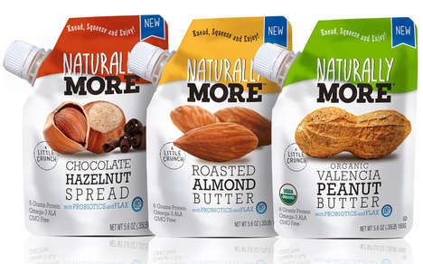 Probiotic Nut Butters - These Healthy Nut Butters are Enriched with Probiotics and Flax
