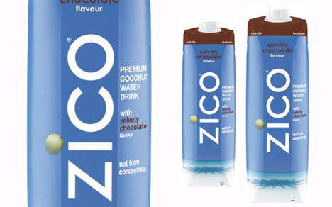Chocolatey Coconut Waters - This Chocolate-Flavored Coconut Water Appeals to the Health-Conscious