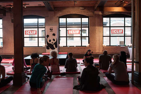 Experiential Fitness Events - CLIF Bar's VIP Workout Prepared Toronto for the WWF CN Tower Climb