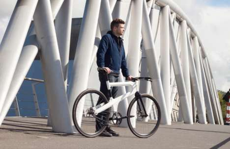 Robot-Produced Bicycles - The Mokumono Bike is Quick and Inexpensive to Produce