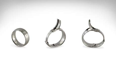 Expanding Custom Fit Rings - The McWhinney TG-5 Wedding Ring for Men Provides a Tight Fit