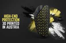 3D-Printed Shin Guards - Zweikampf's Shock-Absorbing Structure was Inspired by Japanese Samurai