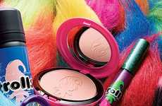 Doll-Inspired Cosmetics Collections - The Latest MAC Collaboration is Inspired by Troll Dolls