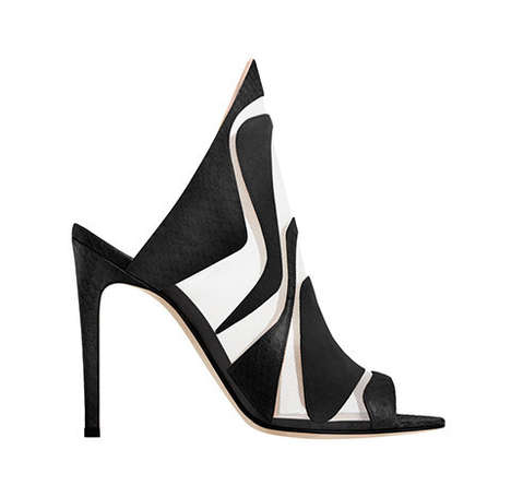 Conceptual Cut-Out Heels - These Alejandro Ingelmo Shoes Boast a Sculptural Design Style