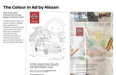 Car-Coloring Advertisements
