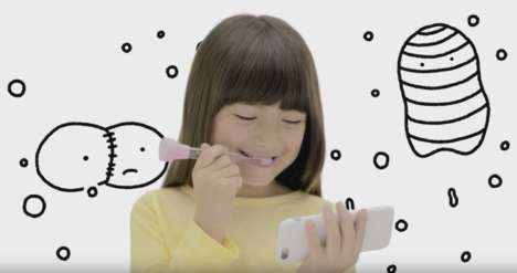 Interactive Gaming Toothbrushes - The 'G・U・M PLAY' Connected Toothbrush Improves Oral Care with Apps