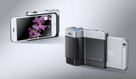 Ergonomic Smartphone Camera Grips - The Pictar Camera Grip Gives iPhone Users the Control of a DSLR