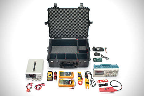 Lightweight Gear Cases - The Pelican Air Case Protects Tools With a Polymer Exterior Shell