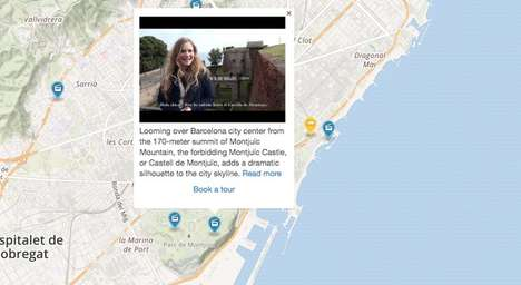 Interactive Map Videos - Online Platform TripGlimpse Helps Travellers Plan Their Next Vacation