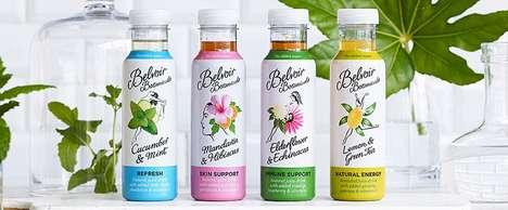Functional Botanical Beverages - The New 'Belvoir Botanicals' Range Boasts Holistic Health Benefits