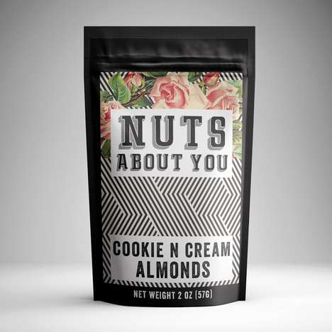 Cookie-Covered Almonds - This 'Nuts About You' Almond Snack Comes in an Indulgent Flavor
