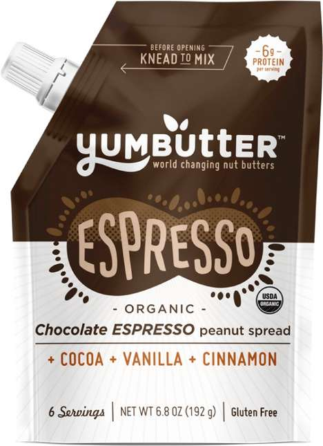 Energizing Peanut Spreads - Yumbutter's Newest Product is Infused with Fair Trade Coffee