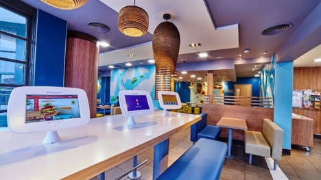 Fast Food Gaming Systems - This Chain is Installing Samsung Galaxy Tablets in Its UK Locations