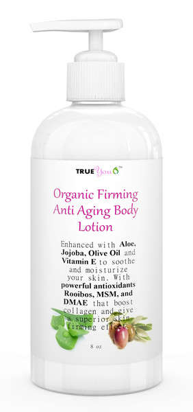 Mature Skin Body Lotions - The True You Organic Body Lotion Features Skin-Firming Qualities