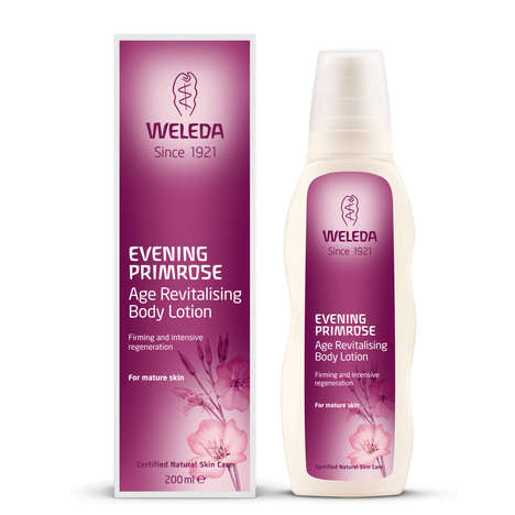 Essential Oil Body Lotions - The Weleda Evening Primrose Body Lotion is for Mature Skin