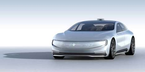Self-Driving Concept Cars - The LeSEE Concept Car is Being Marketed as an Autonomous Taxi