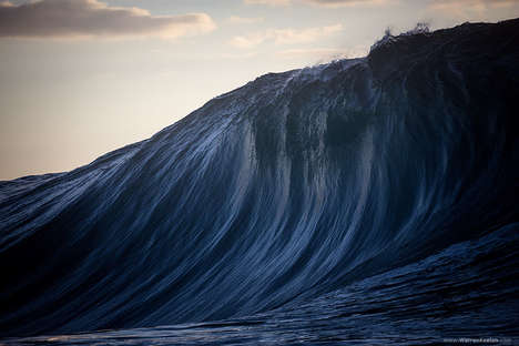 Monumental Wave Photography - Warren Keelan Captures Incredible Swells Off the Shores of Australia