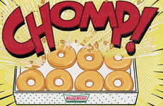 Superhero-Themed Donut Promotions - This Krispy Kreme Promo Celebrates National Superhero Day 2016