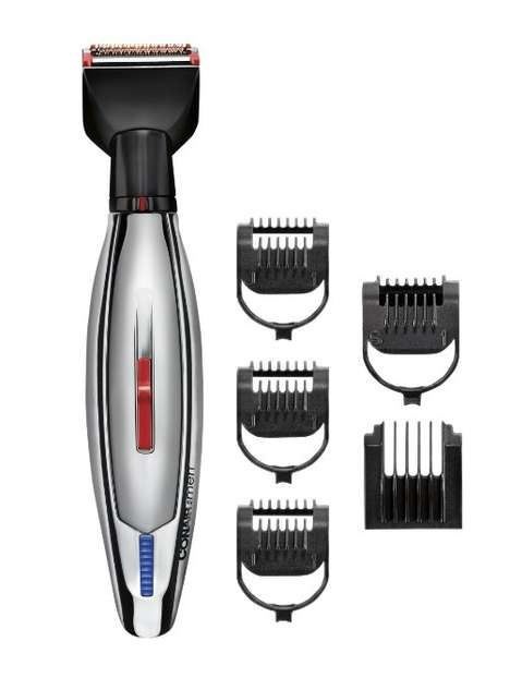 Customizable Beard Trimmers - This Conair Hair Trimmer is Rechargeable and Boasts Multiple Blades
