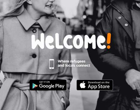 Refugee Social Apps - The Welcome! App for Refugees Translates So Locals and Newcomers Can Connect
