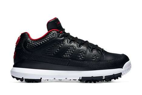 Versatile Sport Sneakers - The Air Jordan 9 Shoes are Designed for Wear During Golf and Baseball