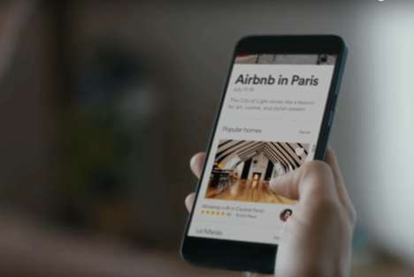 Authentic Locale Travel Apps - Airbnb's Mobile Platform Provides Dining and Attraction Suggestions