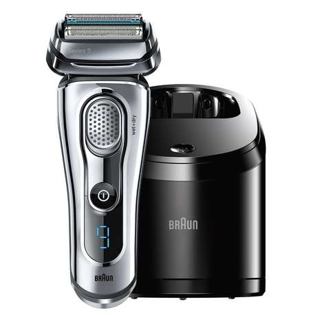 Waterproof Electric Shavers - Braun Series 9 Shavers Can Be Used Wet or Dry