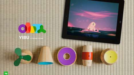 Toy-Incorporating Game Platforms - The 'Yibu' Gaming Platform Blends Real World Toys with Digital