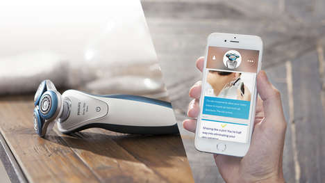 Bluetooth-Connected Shavers - This Innovative Philips Shaver Gives Out Personalized Shaving Tips