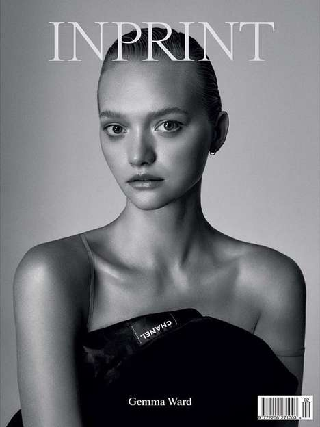 Candid Supermodel Covers - This Gemma Ward Inprint Magazine Cover Marks the Model's Comeback