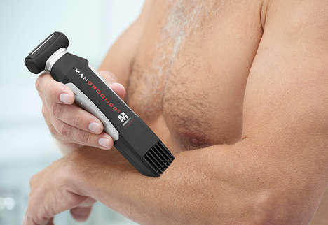 Two-In-One Grooming Gadgets - This MANGROOMER Device Doubles as a Groomer and Trimmer