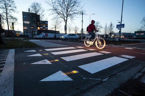Cyclist Warning Systems - The 'BikeScout' System Warns Drivers of Oncoming Cyclists
