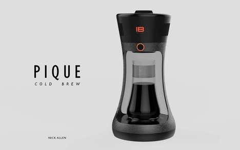 Speedy Cold Brew Machines - The 'Pique' is a Coffee Machine That Makes Cold Brew is Under 10 Minutes