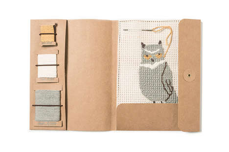 Children's Needlepoint Kits - Fanny & Alexander's Crafting Kits are Inspired by Wildlife