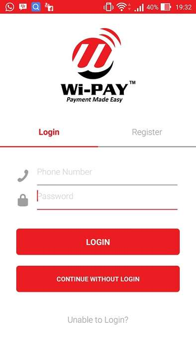 Stress-Free Bill Payment Apps - The 'Wi-PAY' App Eliminates the Need to Register to Pay Bills Online