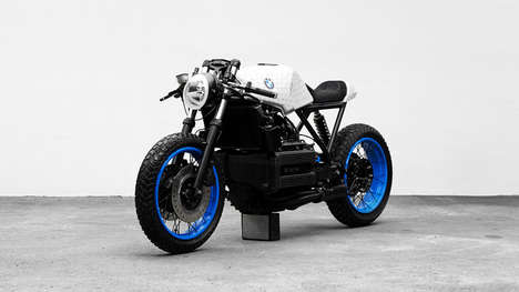 Artfully Handcrafted Motorcycles - 'k101' is a BMW-Inspired Motorcycle Made by Artists and Designers