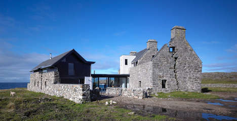 Transformed Scottish Homes - WT Architects Blends Old with the New in a Preservative Way