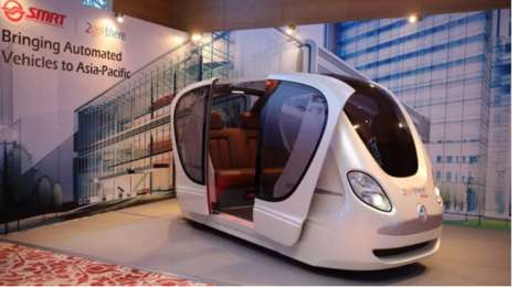 Driverless Transportation Pods - Singapore's GRT Pods Could Revolutionize Public Transport