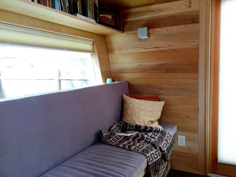 Towable Tiny Homes - The Start Small Tiny House Blends Useful and Appealing Design