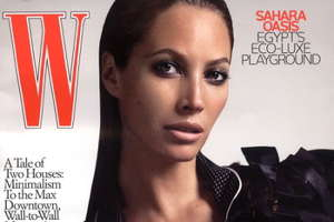 Christy Turlington Sizzles Again on W Magazine